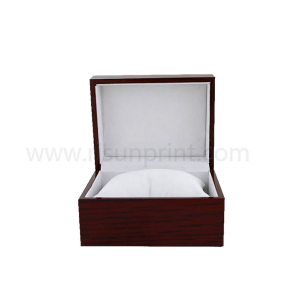 Personalized Wooden Watch Box With Sponge