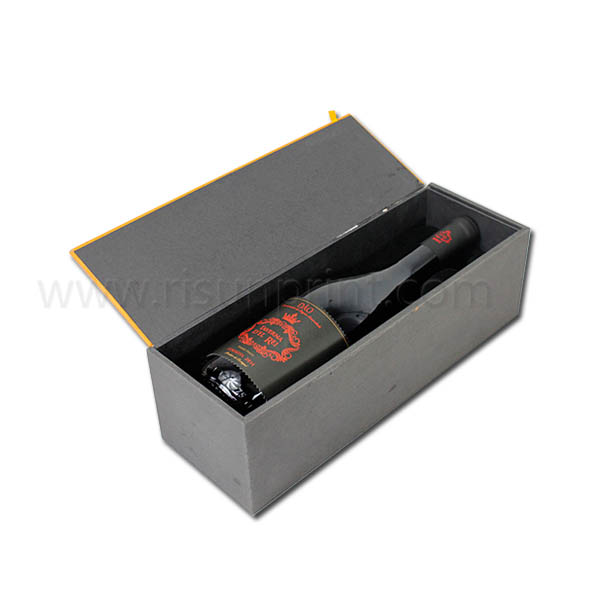 Metal Fittings Custom Wine Box