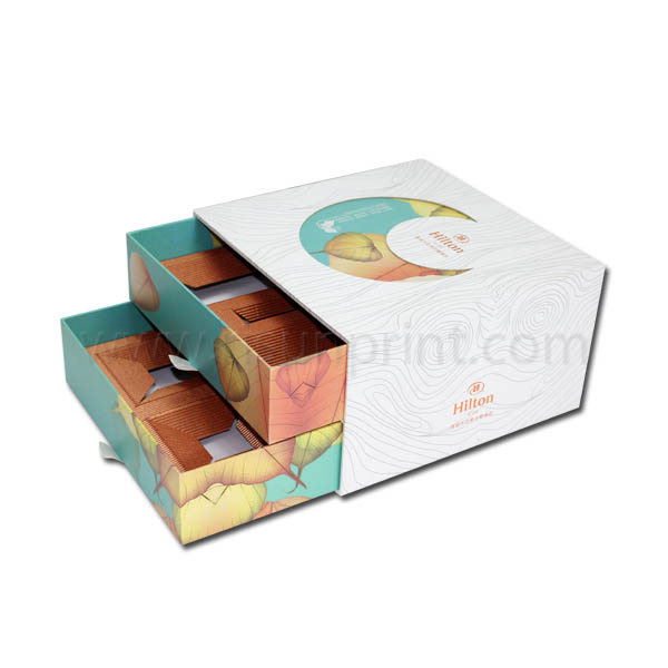 Mooncake Paper Food Drawer Boxes
