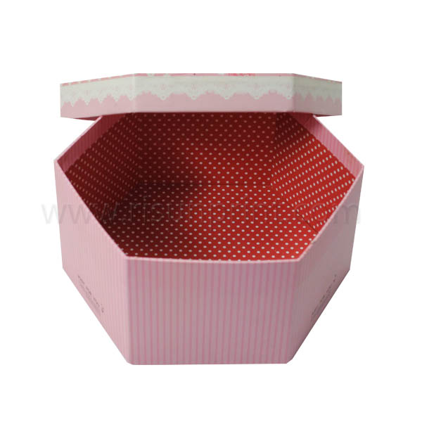Pink Image Large Gift Boxes With Lids