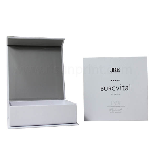 White Color Small Cardboard Gift Boxes