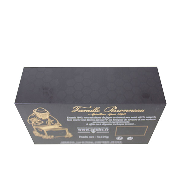 Gold stamp box