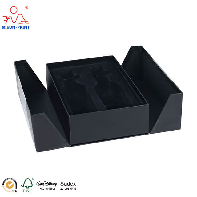 2 bottle wine presentation box