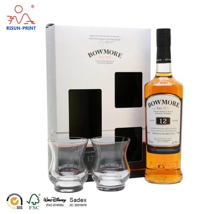 Bowmore 12 Year Whisky gift box
