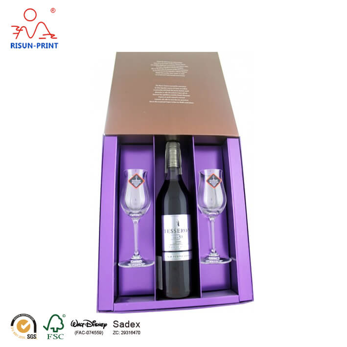 Perfection XO wine box packaging