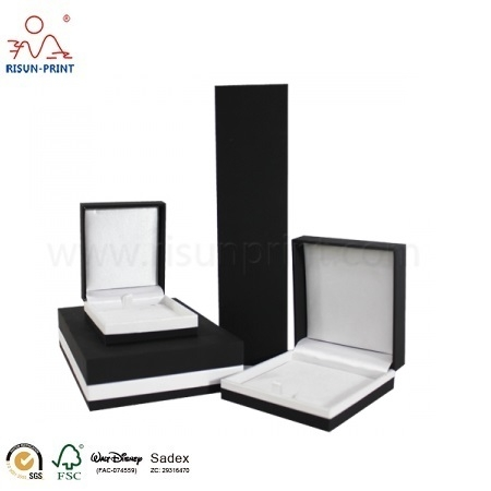 Black Personalized Jewelry Box