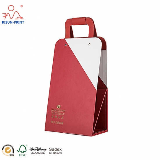 Foldable Paper Wine Boxes
