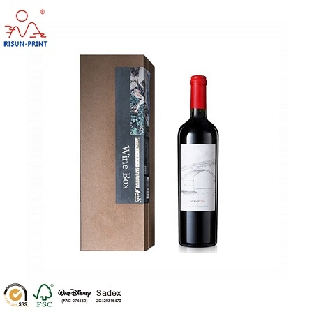 Wine Bottle Box