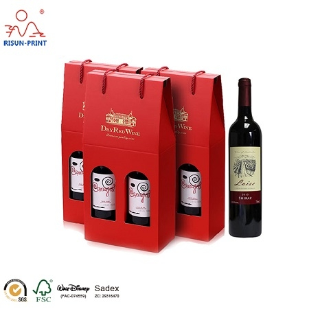 2 Bottle Wine Gift box