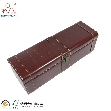 Leather Wine Box