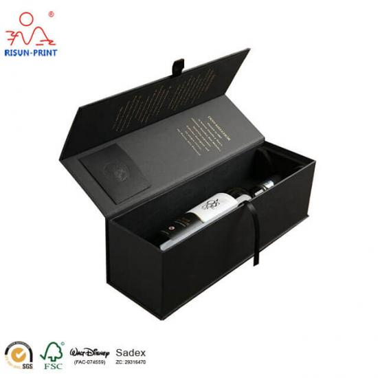 Black Wine Gift Box